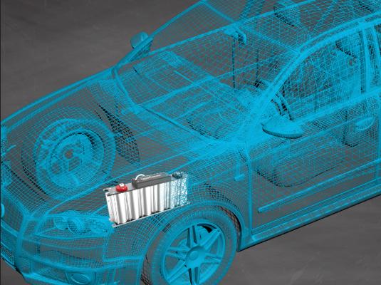 搭载超级电容的新能源汽车